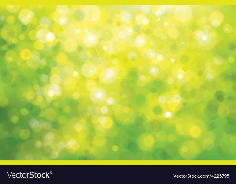 Green bokeh background vector | Price: 1 Credit (USD $1)