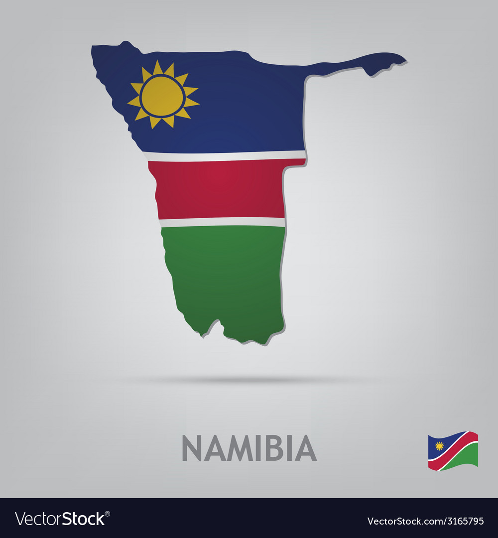 Namibia vector | Price: 1 Credit (USD $1)