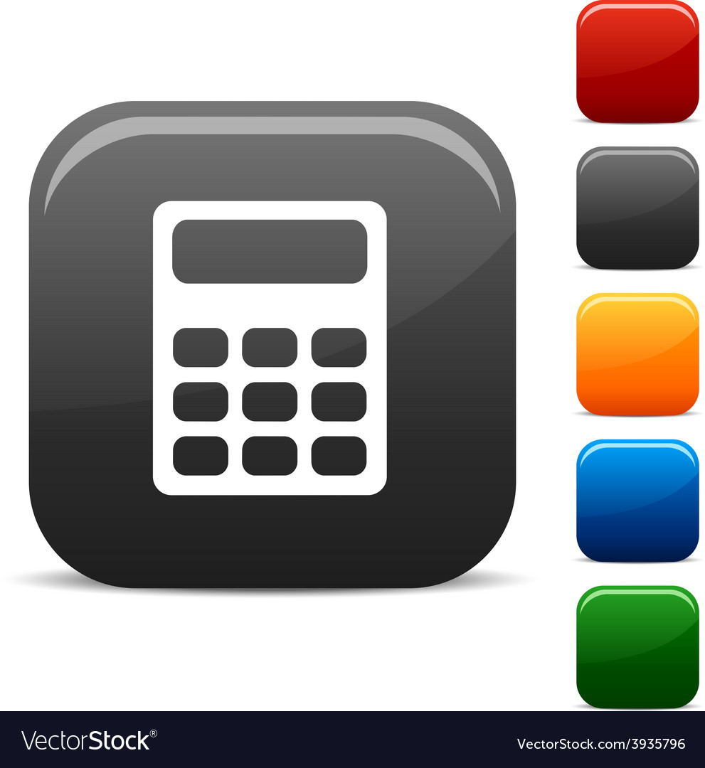 Calculate icons vector | Price: 1 Credit (USD $1)