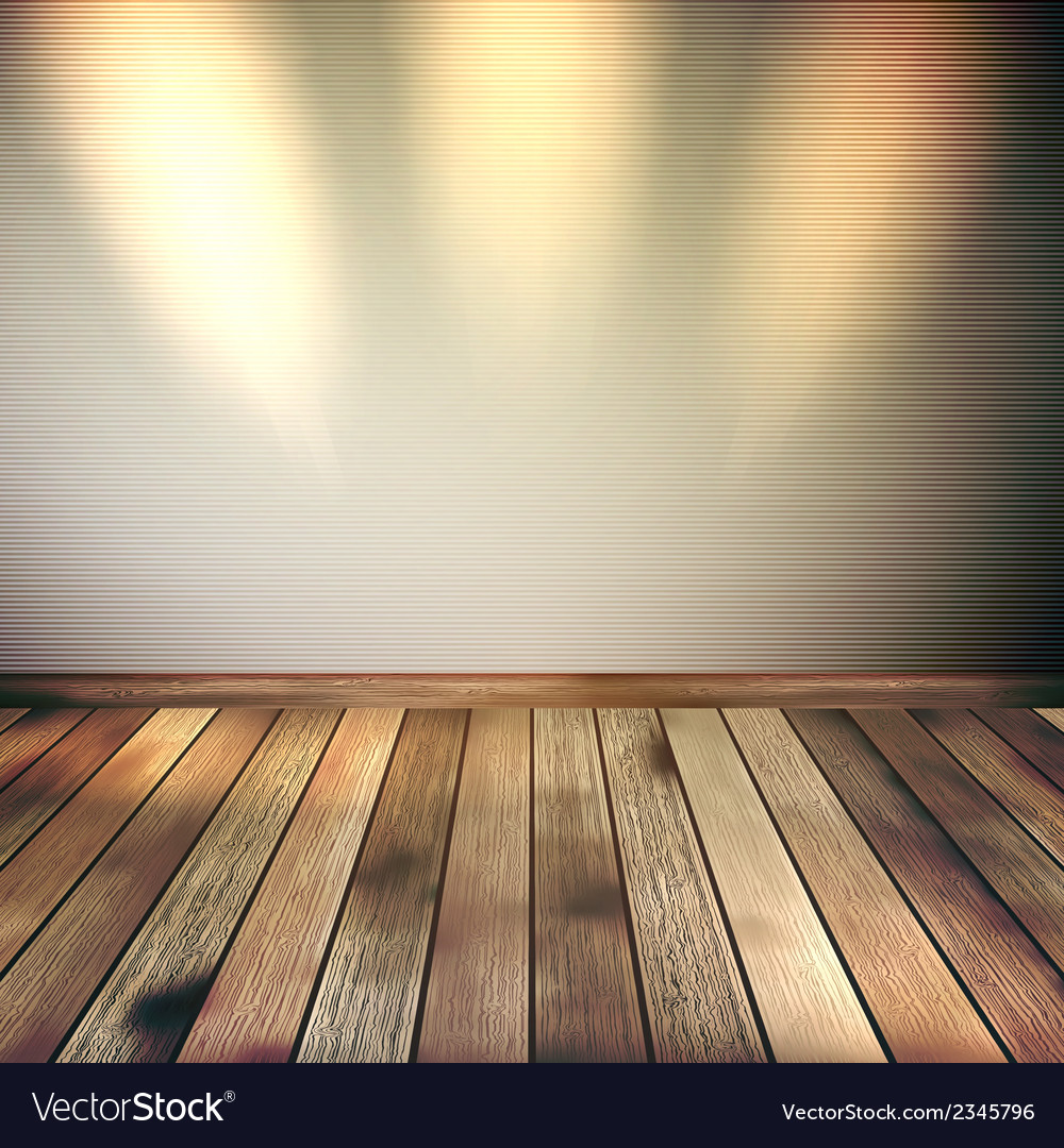 Empty lines wall with 3 spot lights eps 10 vector | Price: 1 Credit (USD $1)