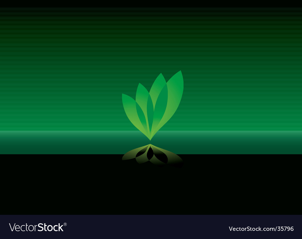 Leaf background vector | Price: 1 Credit (USD $1)