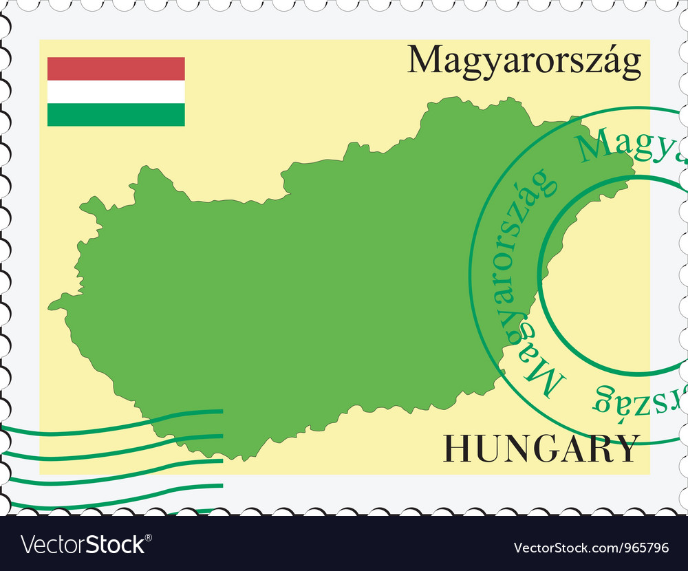 Mail to-from hungary vector | Price: 1 Credit (USD $1)