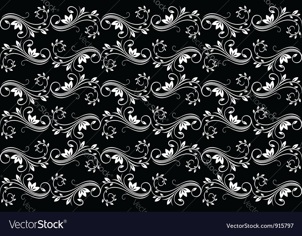 Black seamless background vector | Price: 1 Credit (USD $1)
