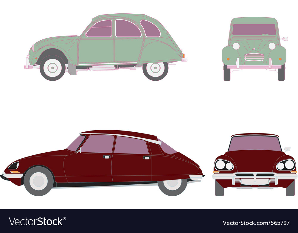 Citroen classics vector | Price: 1 Credit (USD $1)
