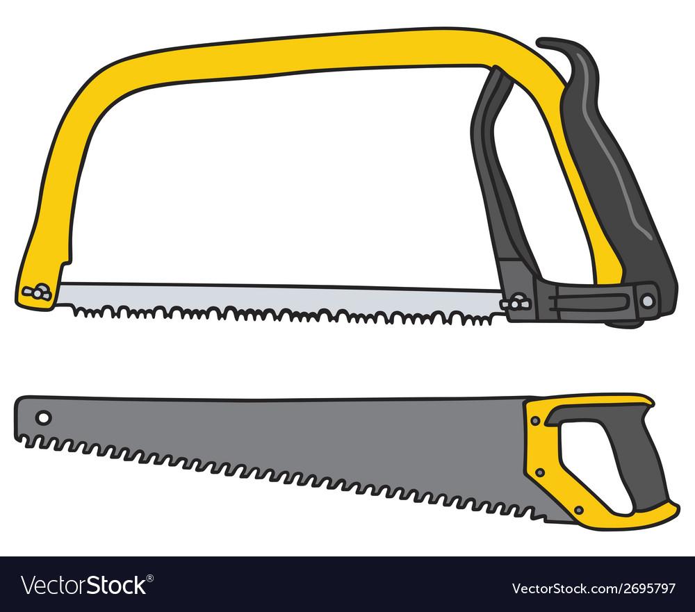 Handsaw vector | Price: 1 Credit (USD $1)