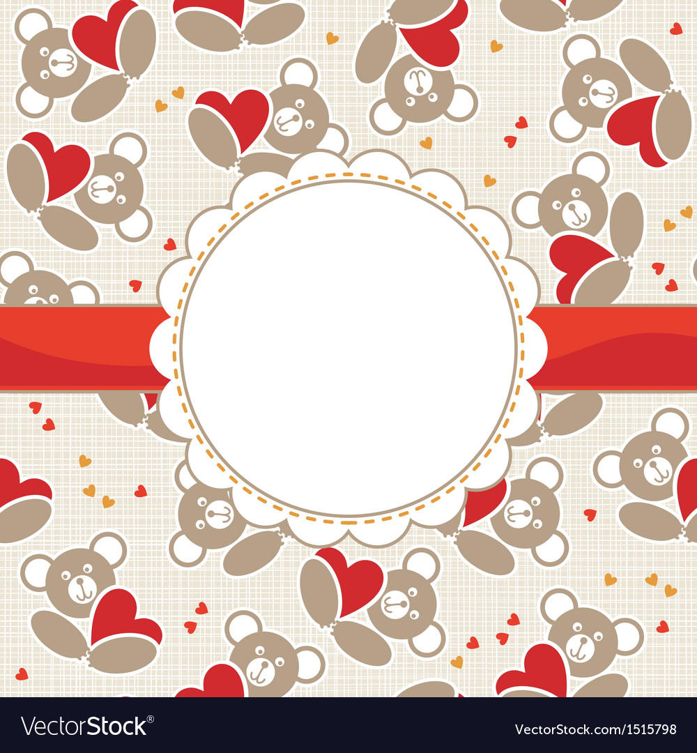 Cute valentine cards vector | Price: 1 Credit (USD $1)