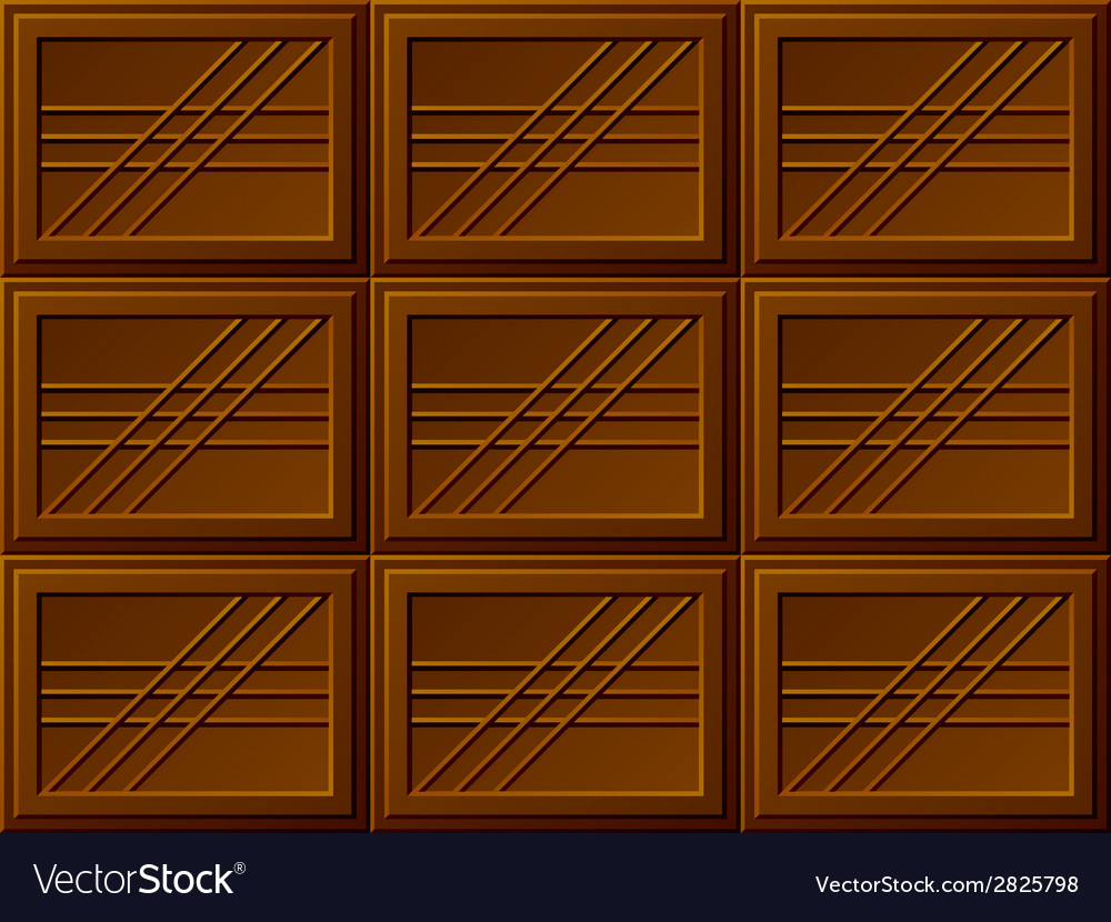 Seamless chocolate bars vector | Price: 1 Credit (USD $1)