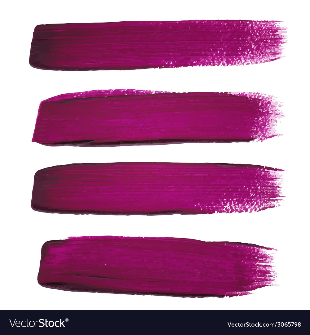 Violet ink brush strokes vector | Price: 1 Credit (USD $1)