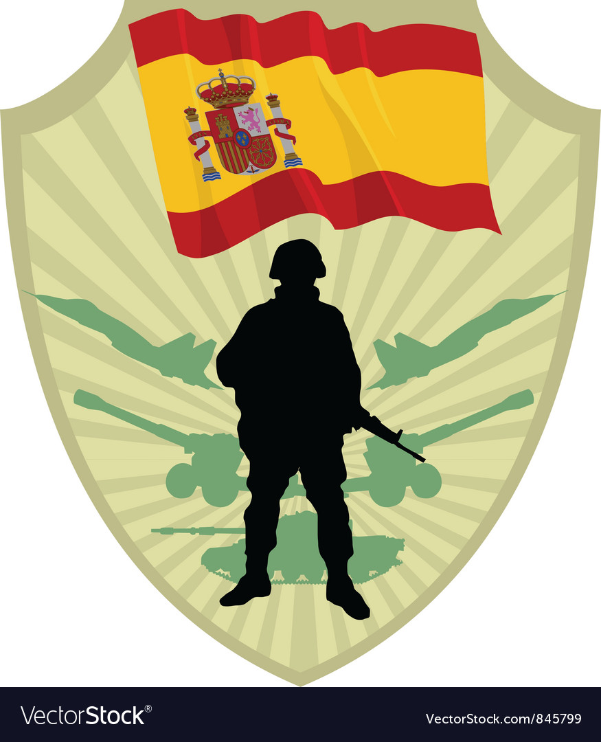 Army of spain vector | Price: 1 Credit (USD $1)