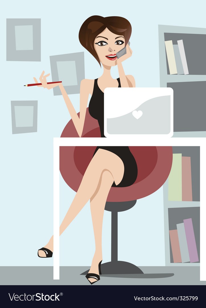 Business woman vector | Price: 3 Credit (USD $3)