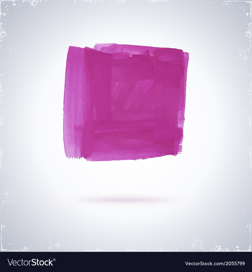 Grunge paint square vector | Price: 1 Credit (USD $1)