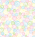 Soft light shells pattern vector