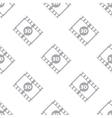 New 3d film seamless pattern vector