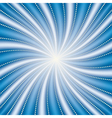 Abstract blue radiate background vector