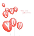 Valentines day background with copy space vector