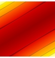 Abstract red and orange rectangle shapes vector