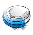 Cleanser minirobo blue vector