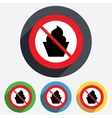 No food muffin sign icon sweet cake symbol vector