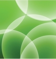 Abstract green background with circles vector