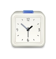 Square alarm clock icon vector