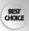 Best choice sticker price tag vector