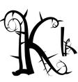 Spiked creeping alphabet vector