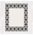 Ornamental frame vintage in editable vector
