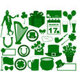 Saint patrick s day elements vector