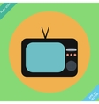 Retro tv icons- vector