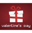Love paperbox vector