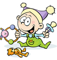 Cool baby - funny vector