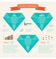 Jewelry icon infographic vector