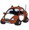 Funny fire patrol car vector