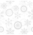 Winter christmas new year seamless pattern vector