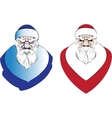 Santa claus   cartoon holidays vector