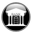 Bank button vector