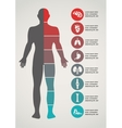 Medical and healthcare background vector