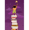 Importance of reading for children development vector