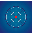 Crosshair target vector