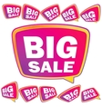3d big sale tags  eps8 vector