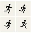 Running men vector