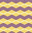 Zig zag geometric pattern retro style background vector