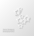 Abstract modern star background vector