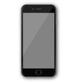 Iphone 4 black vector