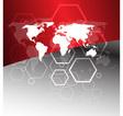 Worldwide business concept vector