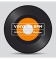 Vinyl 45 rpm mockup 02 vector