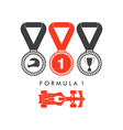 Formula one racing vector