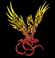 Stock photo - phoenix tatto vector