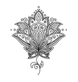 Persian paisley design vector