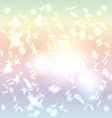 Abstract background pastel color rainbow glare vector